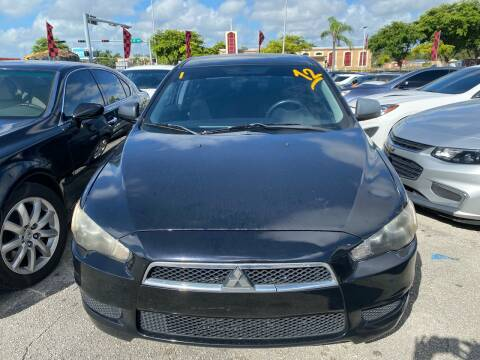 2012 Mitsubishi Lancer for sale at America Auto Wholesale Inc in Miami FL
