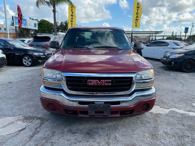 2007 GMC Sierra 1500 Classic for sale at America Auto Wholesale Inc in Miami FL