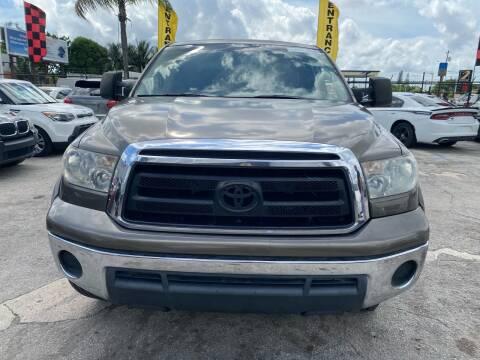 2010 Toyota Tundra for sale at America Auto Wholesale Inc in Miami FL