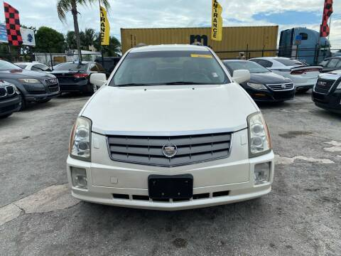 2004 Cadillac SRX for sale at America Auto Wholesale Inc in Miami FL
