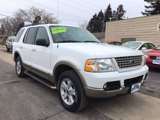 2003 ford explorer eddie bauer in kenosha wi 30th avenue car corral