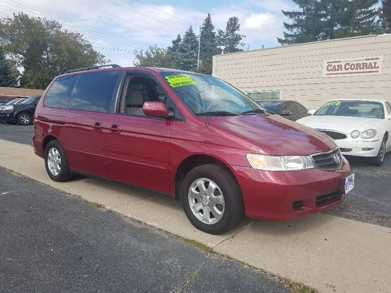 Attractive 2002 Honda Odyssey For Sale At 30th Avenue Car Corral In Kenosha WI