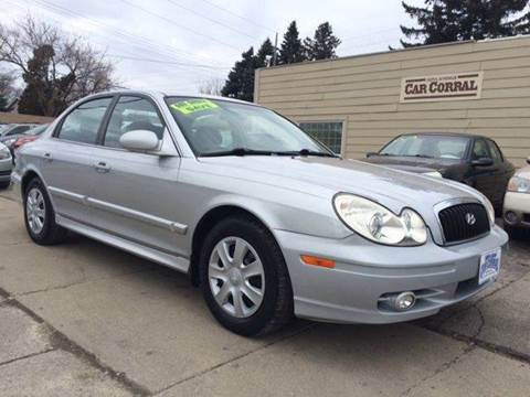 2004 Hyundai Sonata for sale at 30th Avenue Car Corral in Kenosha WI