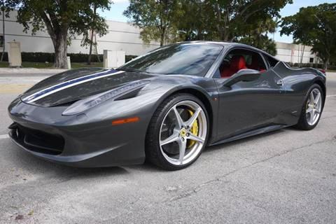 Ferrari 458 Italia For Sale >> 2010 Ferrari 458 Italia For Sale In Doral Fl
