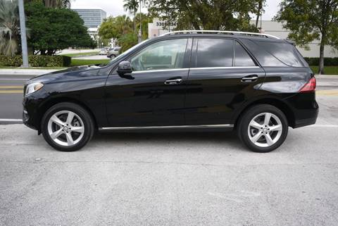 2017 Mercedes-Benz GLE GLE 350 for sale at PERFORMANCE AUTO WHOLESALERS in Miami FL