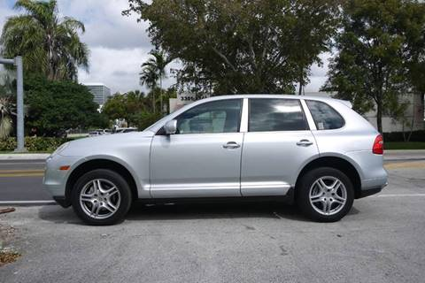 2008 Porsche Cayenne Tiptronic for sale at PERFORMANCE AUTO WHOLESALERS in Miami FL