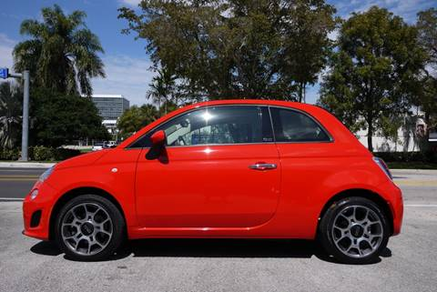 2018 FIAT 500c Pop for sale at PERFORMANCE AUTO WHOLESALERS in Miami FL