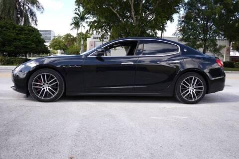 2017 Maserati Ghibli S Q4 for sale at PERFORMANCE AUTO WHOLESALERS in Miami FL