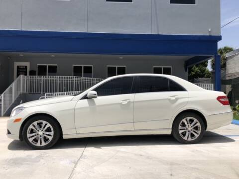 2010 Mercedes-Benz E-Class for sale at PERFORMANCE AUTO WHOLESALERS in Miami FL