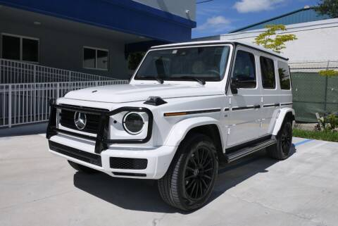 2020 Mercedes-Benz G-Class for sale at PERFORMANCE AUTO WHOLESALERS in Miami FL