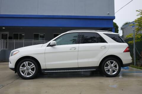 2013 Mercedes-Benz M-Class for sale at PERFORMANCE AUTO WHOLESALERS in Miami FL