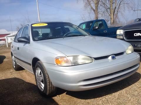 2001 Chevrolet Prizm for sale in Petoskey, MI
