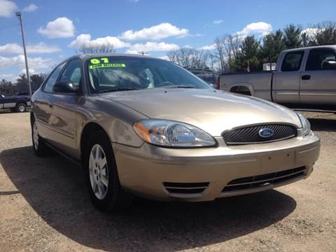 2007 ford taurus for sale in michigan. Black Bedroom Furniture Sets. Home Design Ideas