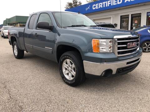 2013 GMC Sierra 1500 for sale at Perrys Certified Auto Exchange in Washington IN