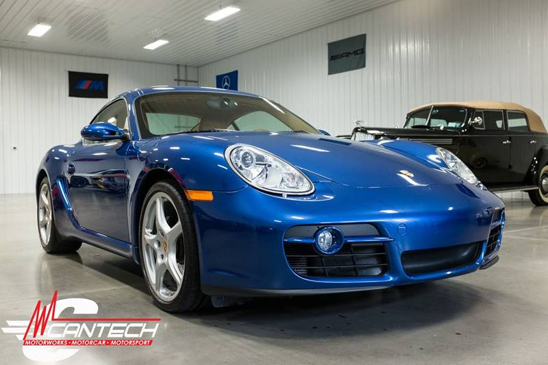 2008 Porsche Cayman Base 2dr Coupe