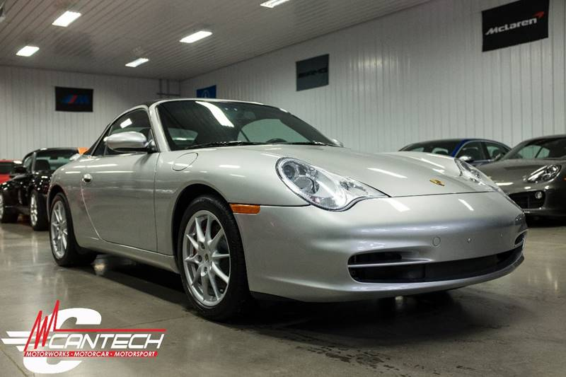 2003 Porsche 911 Carrera 2dr Cabriolet