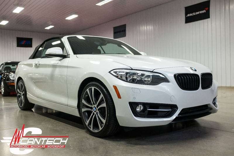 2016 BMW 2 Series 228i xDrive AWD 2dr Convertible SULEV