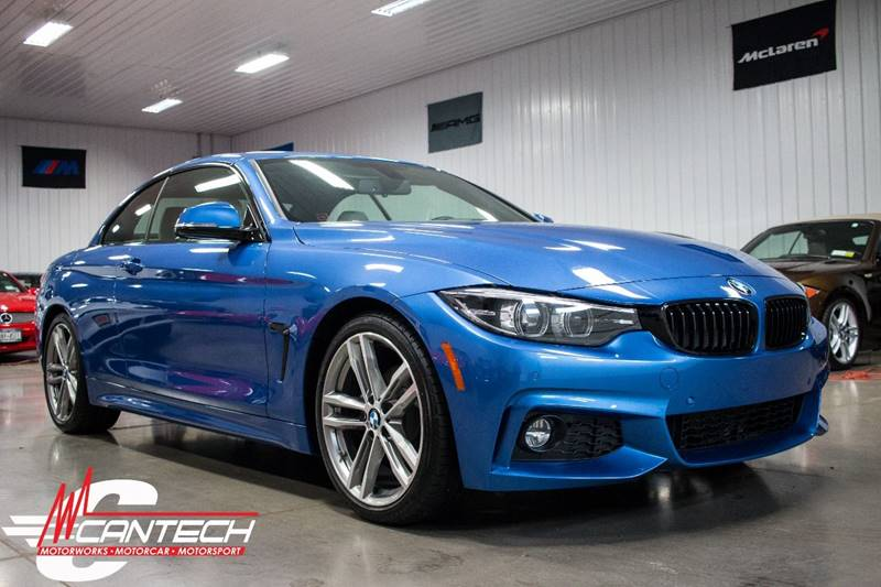 2018 BMW 4 Series 430i 2dr Convertible