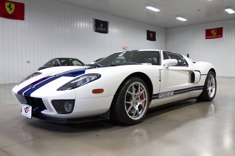 Cantech automotive: 2006 Ford GT 5.4L V8 Supercharger Coupe