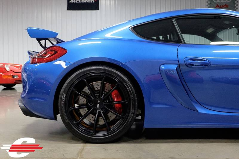 Cantech automotive: 2016 Porsche Cayman 3.8L H6 Coupe