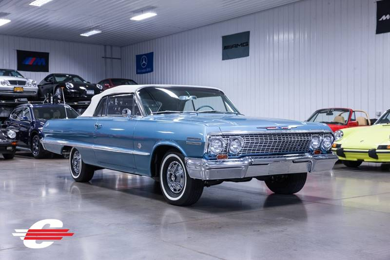 Cantech automotive: 1963 Chevrolet Impala 409 c.i. V8 Convertible