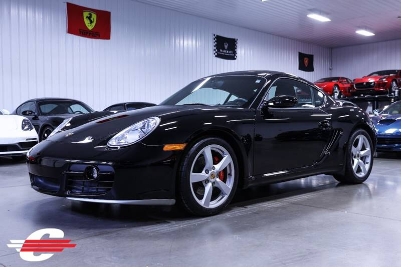 Cantech automotive: 2006 Porsche Cayman 3.4L H6 Coupe