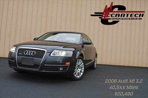 2006 Audi A6 for sale at Cantech Automotive in North Syracuse NY