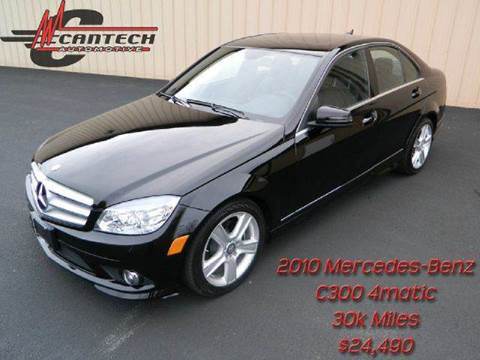 2010 Mercedes-Benz C-Class for sale at Cantech Automotive in North Syracuse NY