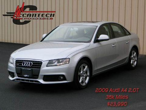 2009 Audi A4 for sale at Cantech Automotive in North Syracuse NY