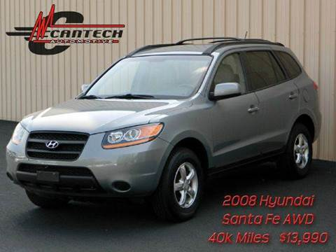 2008 Hyundai Santa Fe for sale at Cantech Automotive in North Syracuse NY