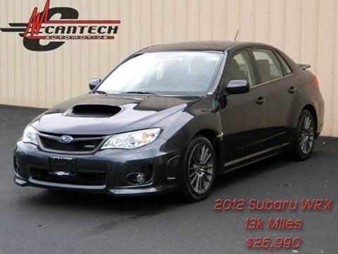 2012 Subaru Impreza for sale at Cantech Automotive in North Syracuse NY