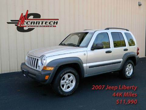 2007 Jeep Liberty for sale at Cantech Automotive in North Syracuse NY