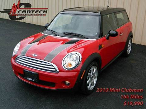 2010 MINI Cooper Clubman for sale at Cantech Automotive in North Syracuse NY