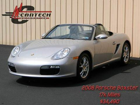 2008 Porsche Boxster for sale at Cantech Automotive in North Syracuse NY