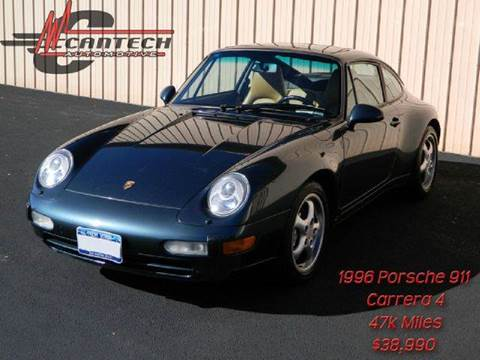 1996 Porsche 911 for sale at Cantech Automotive in North Syracuse NY