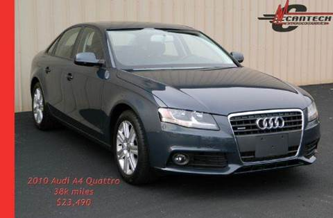 2010 Audi A4 for sale at Cantech Automotive in North Syracuse NY