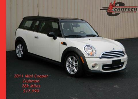2011 MINI Cooper Clubman for sale at Cantech Automotive in North Syracuse NY