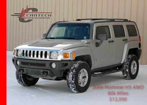 2006 HUMMER H3 for sale at Cantech Automotive in North Syracuse NY