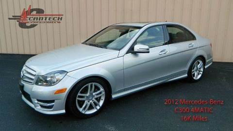 2012 Mercedes-Benz C-Class for sale at Cantech Automotive in North Syracuse NY