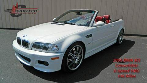 2006 BMW M3 for sale at Cantech Automotive in North Syracuse NY