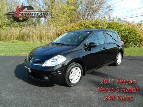 2011 Nissan Versa for sale at Cantech Automotive in North Syracuse NY