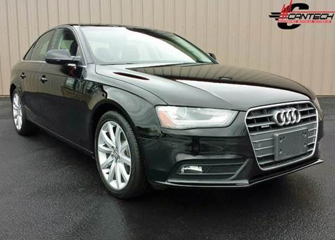 2013 Audi A4 for sale at Cantech Automotive in North Syracuse NY