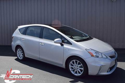 2013 Toyota Prius v for sale at Cantech Automotive in North Syracuse NY