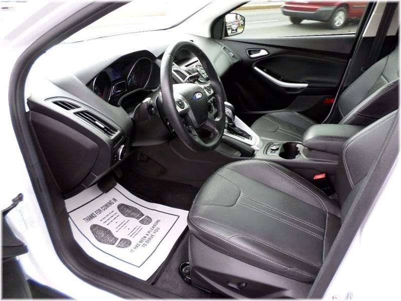 2014 Ford Focus for sale at SPOOR'S AUTO SALES INC. in La Porte IN