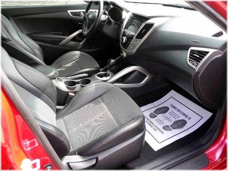 2013 Hyundai Veloster for sale at SPOOR'S AUTO SALES INC. in La Porte IN