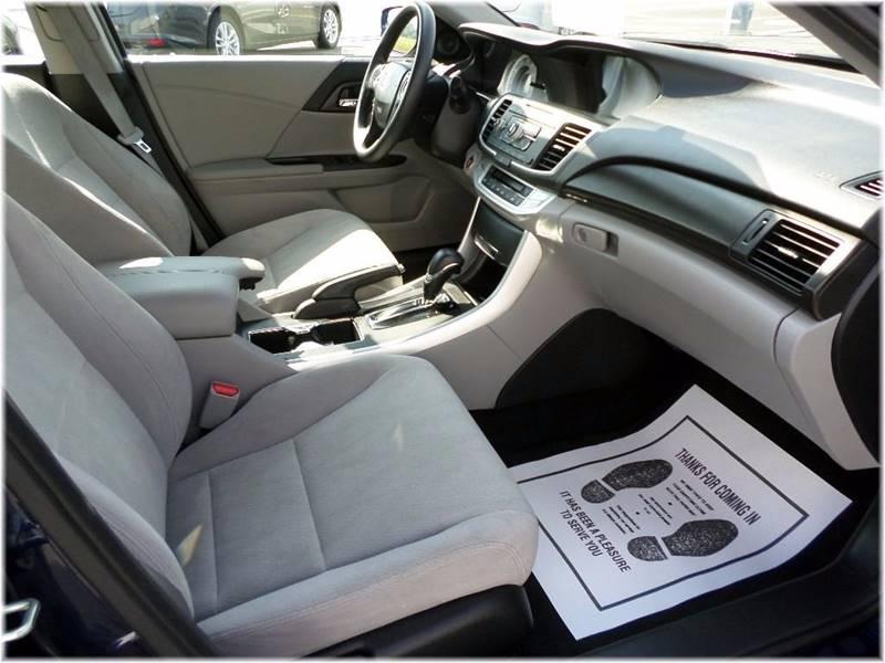 2014 Honda Accord for sale at SPOOR'S AUTO SALES INC. in La Porte IN