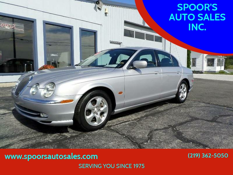 2002 Jaguar S Type For Sale At SPOORu0027S AUTO SALES INC. In La Porte