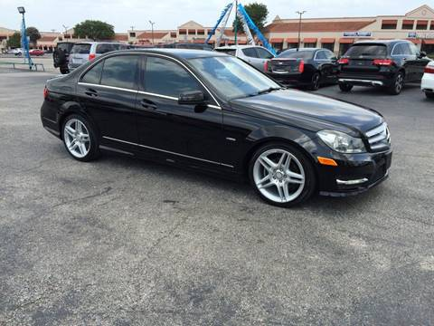 2012 Mercedes-Benz C-Class for sale in Universal City, TX