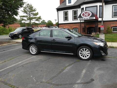 2012 Toyota Camry for sale at Auto Marketplace in Ashland VA