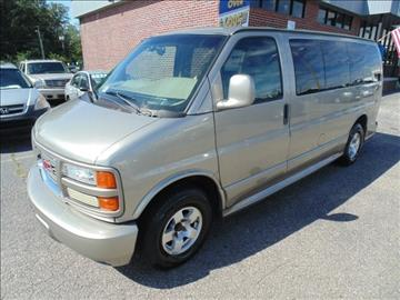 2002 GMC Savana Passenger for sale in Richlands, VA